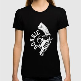 Bonnie and Clyde T Shirt Couples Halloween Matching Costume T-shirt