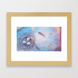 """""""Spring At Last"""" Framed Art Print"""