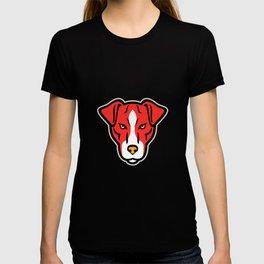 Plummer Terrier Dog Front Mascot T-shirt