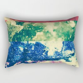 Crystalline Rainbow Rectangular Pillow