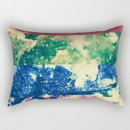 Crystalline Rainbow Rectangular Pillow