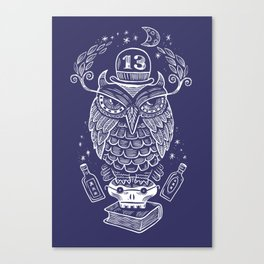 The Wise One - Owl Canvas Print