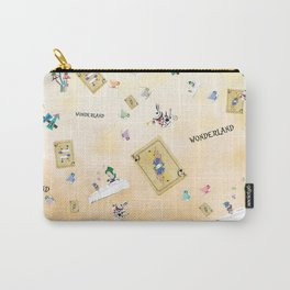 Wonderland Pl Carry-All Pouch