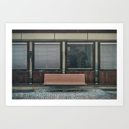 The Bench Art Print