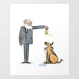 Pavlov & Dog Art Print