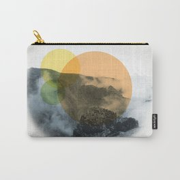 Sunrise on a mountian Carry-All Pouch