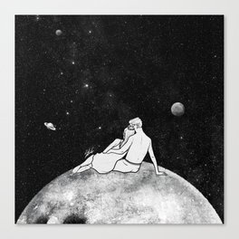 The greatest moon. Canvas Print