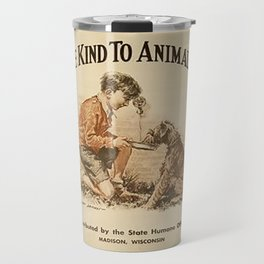 Be Kind To Animals 3 Travel Mug