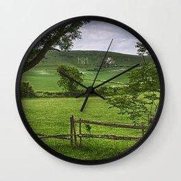 The Long Man Of Wilmington Wall Clock