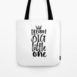kids room decor,dream big little one,motivational poster,kids gift,nursery decor,bedroom decor Tote Bag