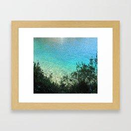 sea water Framed Art Print
