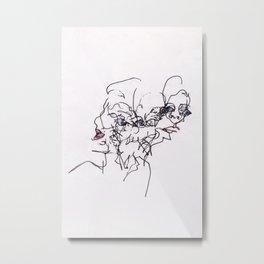Disintegral #1293 Metal Print