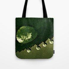 Leaf Drops Tote Bag