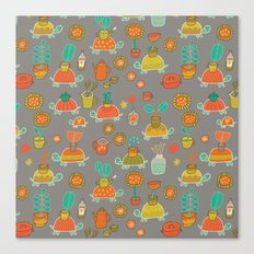 Pattern Project #4 / Esio Trot Canvas Print