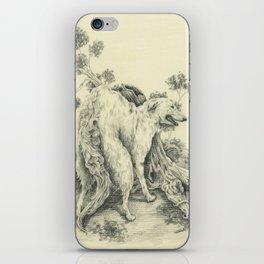 Borzoi iPhone Skin