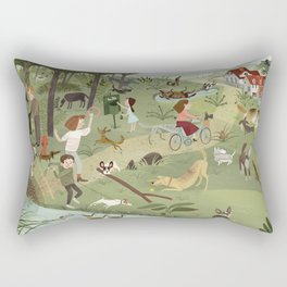 Fetch! Rectangular Pillow