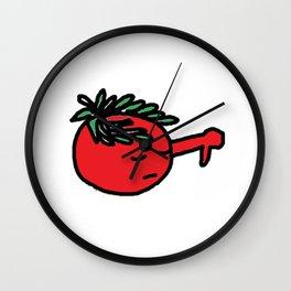 Tomato cesar Wall Clock