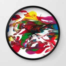 Water waves by Luka Wall Clock
