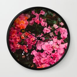 California Blooms IV Wall Clock