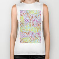 scales Biker Tanks featuring RAINBOW SCALES by shutupbek