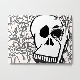 No See You Metal Print