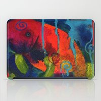 manatee iPad Cases featuring Young Manatee by Silke Powers