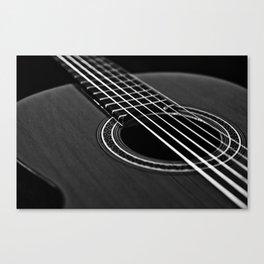 La guitarra Canvas Print