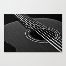 La guitarra Canvas Print