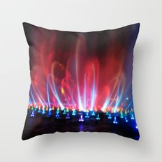 World Of Color II Throw Pillow