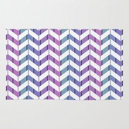Zigzag striped pattern.2 Rug