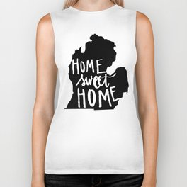The Mitten - Home Sweet Home! Biker Tank