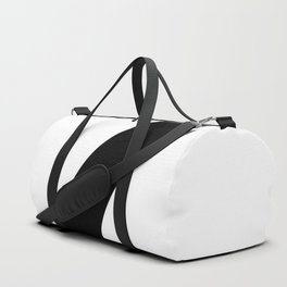 Number 7 (Black & White) Duffle Bag
