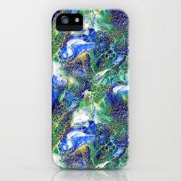 Blue Lacing iPhone Case