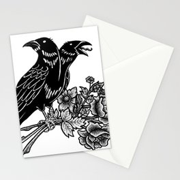 The Ravens Stationery Cards