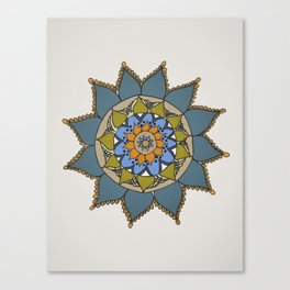 Mandala by Motilal Canvas Print