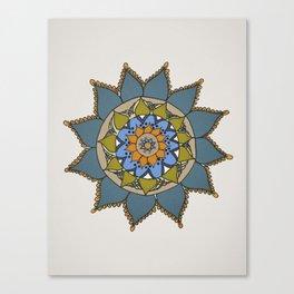 Mandala by Motilal Canvas Print
