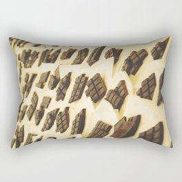 Chocolate en Sant Antoni Rectangular Pillow