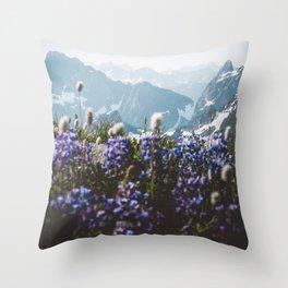 Mountain Meadows Throw Pillow