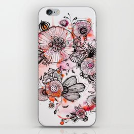 June Bloom iPhone Skin