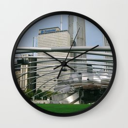 Cityscape 1 Series Wall Clock