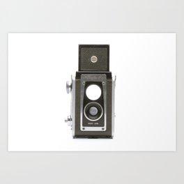 Vintage Brownie Camera Art Print