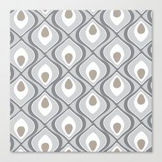 pattern grey Canvas Print