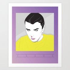 Nagel Eleven Art Print