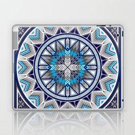 Sacred Places Blue Laptop & iPad Skin