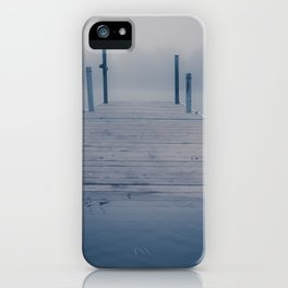Bridge over troubled water iPhone Case