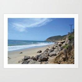 Malibu, CA Art Print