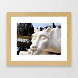 Nittany Lion (2) Framed Art Print
