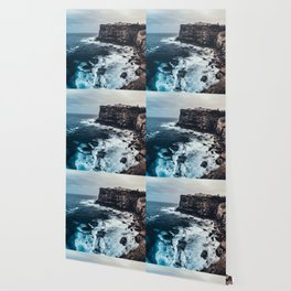 Coastal landscape Wallpaper