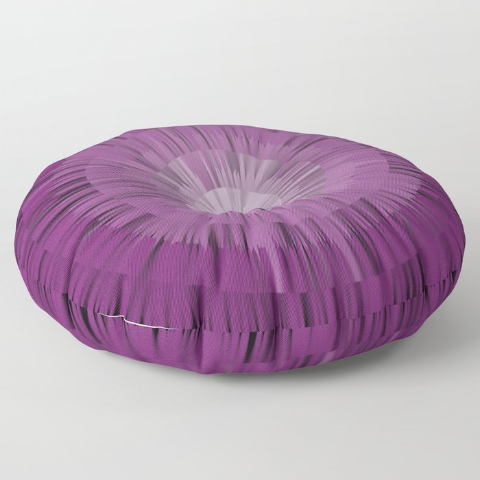 spiky purple Floor Pillow