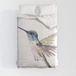 Flying Little Hummingbird Comforters